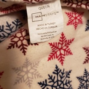 MainStay Bedding - Flannel Queen Sheet Set